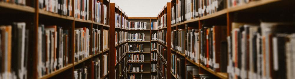 photo of book stacks